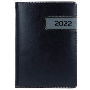 COMBO * A4 dzienny z registrem CZARNY / SZARY kalendarz książkowy