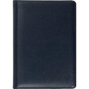 ELITE * A4 dzienny z registrem GRANATOWY kalendarz książkowy