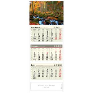 kalendarz trójdzielny - POTOK
