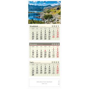 kalendarz trójdzielny - TATRZAŃSKA DOLINA