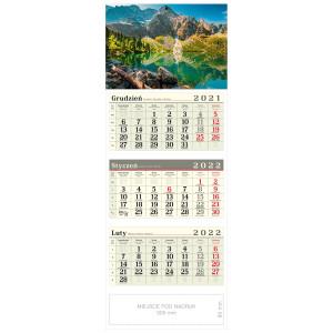 kalendarz trójdzielny - MORSKIE OKO