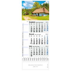 kalendarz jednodzielny - SIELSKA CHATA