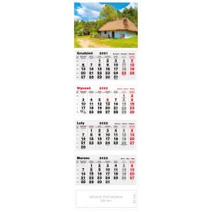 kalendarz czterodzielny - SIELSKA CHATA