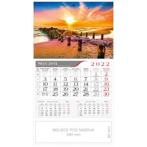 kalendarz jednodzielny - BAŁTYCKA PLAŻA
