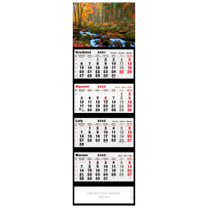 kalendarz czterodzielny - POTOK