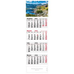 kalendarz czterodzielny - TATRZAŃSKA DOLINA