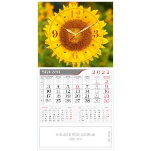 kalendarz jednodzielny - ZEGAR SŁONECZNIK