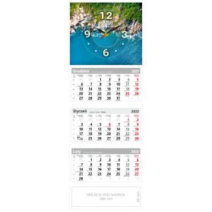 kalendarz trójdzielny - ZEGAR KAMIENISTE WYBRZEŻE