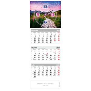 kalendarz trójdzielny - ZEGAR ŚCIEŻKA
